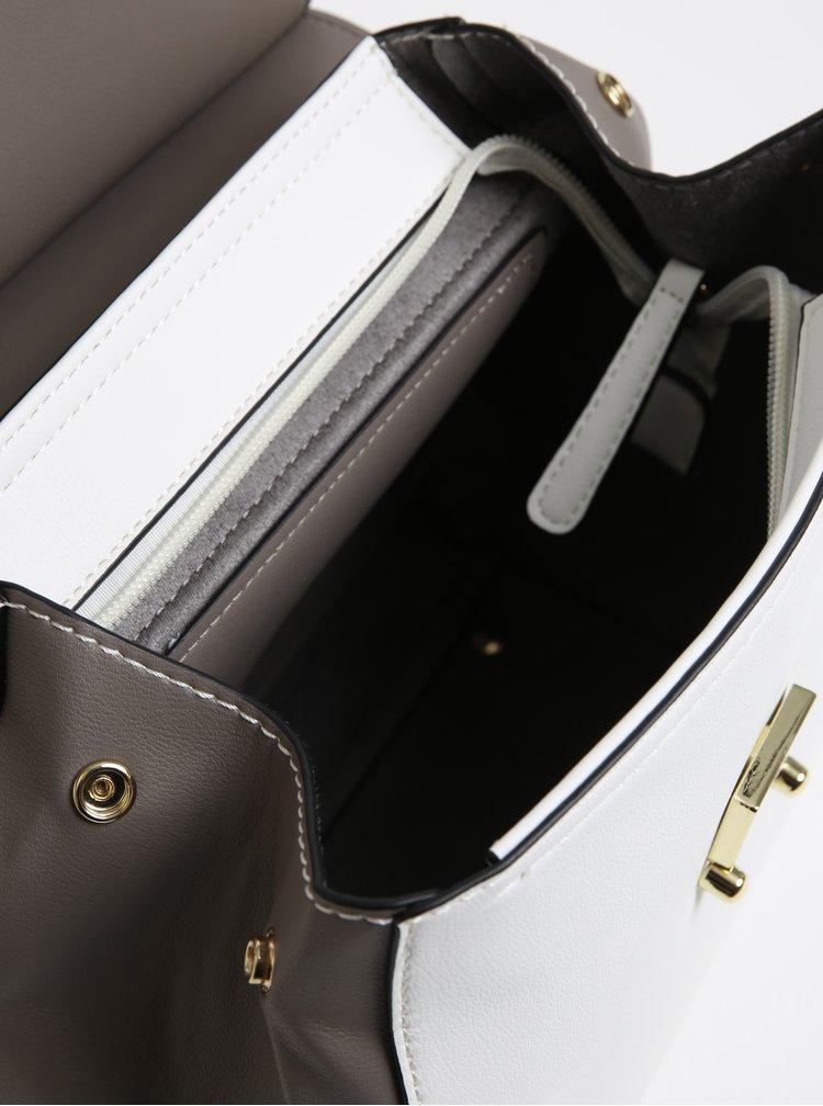 Bílo-šedý batoh Gionni Cara