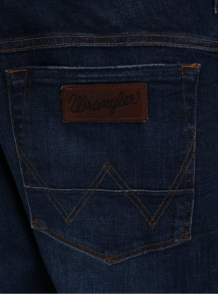Modré pánské regular tapered džíny Wrangler Boyton