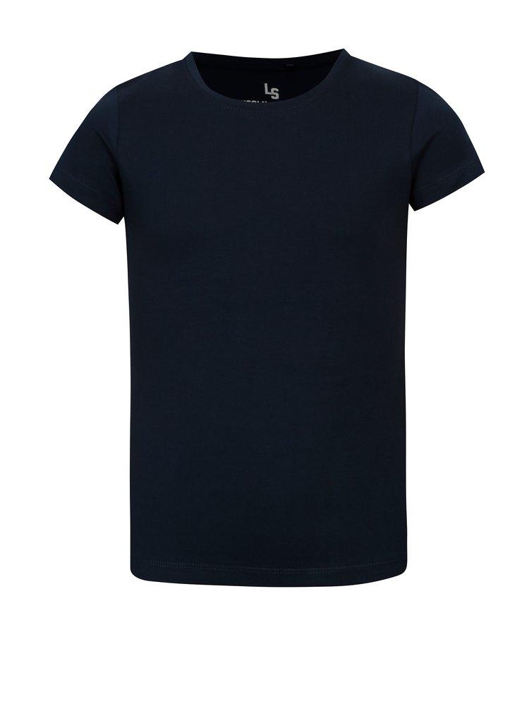 Tmavě modré holčičí basic tričko 5.10.15.
