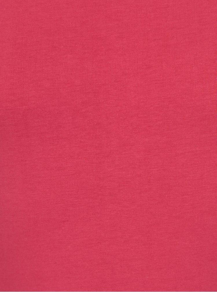 Růžové holčičí basic tričko 5.10.15.