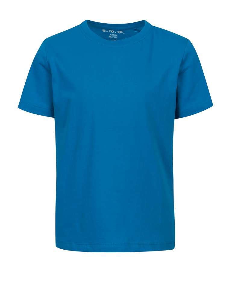Modré klučičí basic tričko 5.10.15.