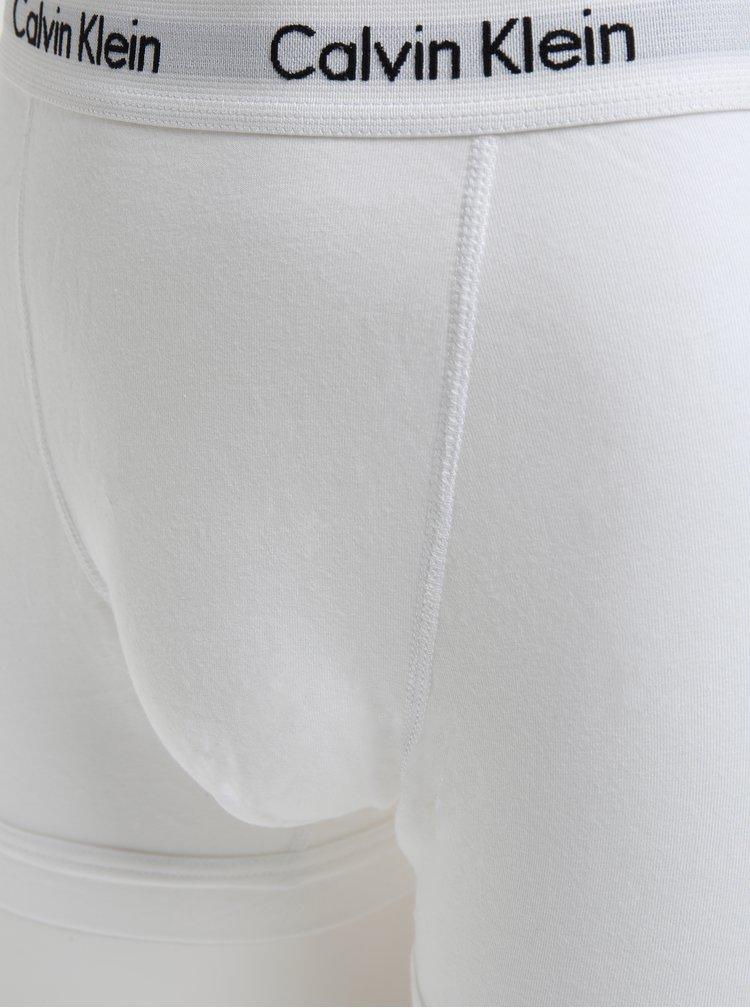 Sada tří classic fit boxerek v šedé, bílé a černé barvě Calvin Klein Underwear