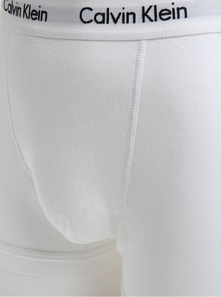 Set de 3 perechi de boxeri uni cu logo pentru barbati - Calvin Klein