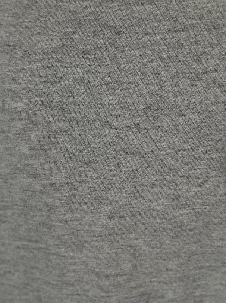 Šedé klučičí basic tričko 5.10.15.