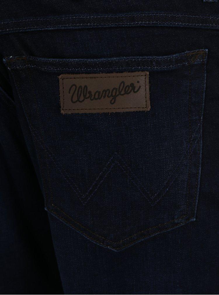 Tmavě modré pánské regular džíny Wrangler Texas