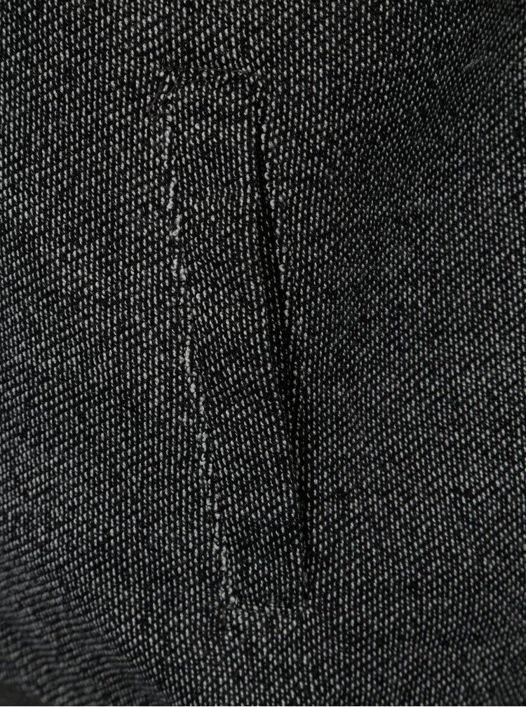 Tmavě šedá klučičí žíhaná mikina 5.10.15.