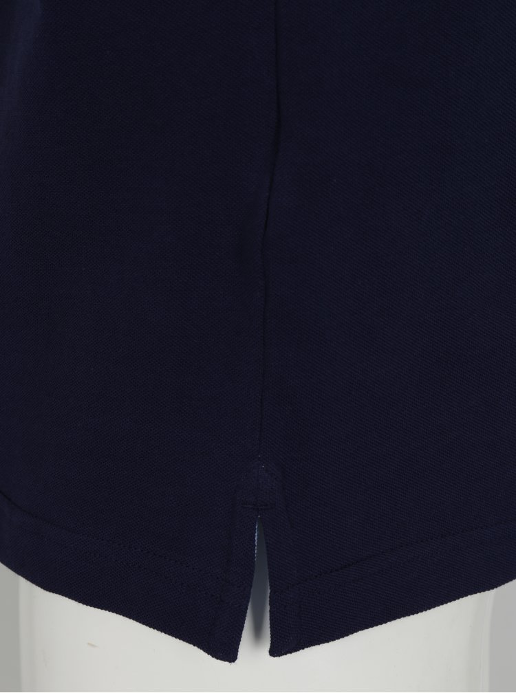 Tmavě modré polo tričko s logem Hackett London Classic