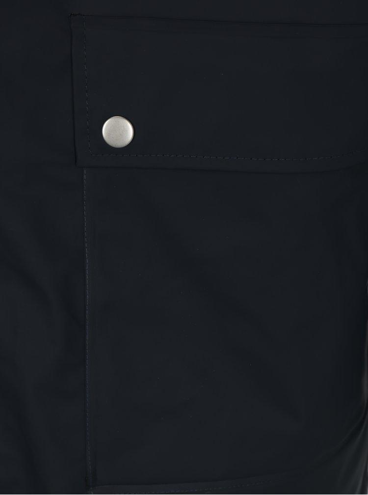 Tmavě modrá pánská nepromokavá lehká bunda Makia Harbour Rain