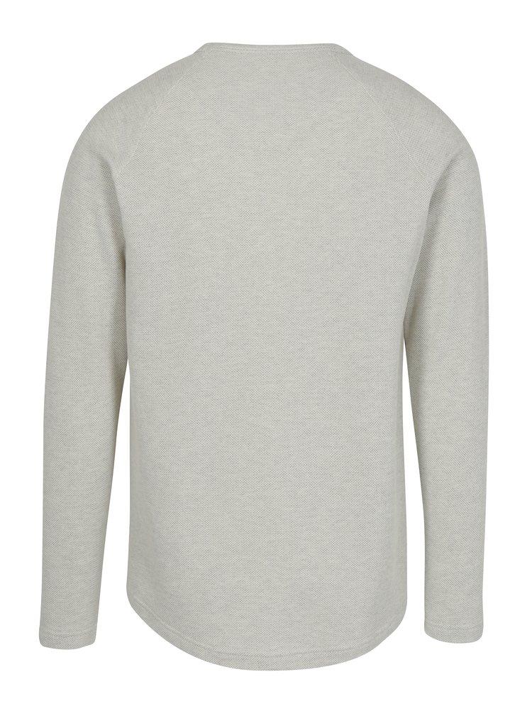 Krémové pánské tričko Makia Galley