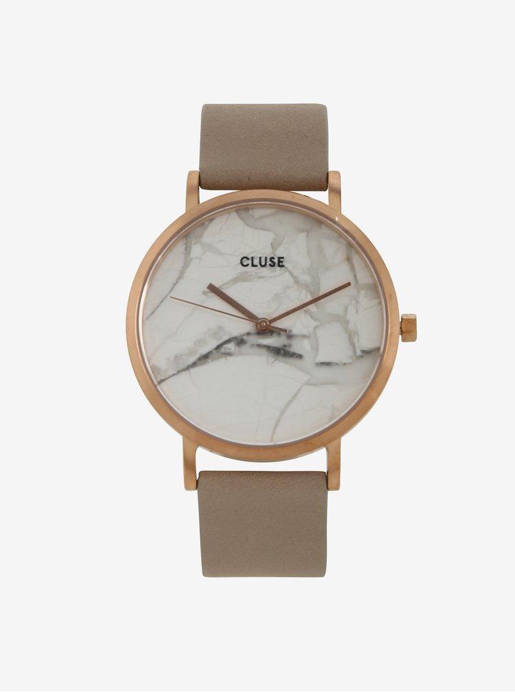 Ceas auriu roze pentru femei - CLUSE