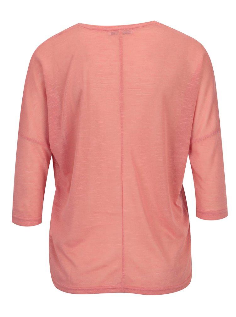 Bluza corai cu maneci 3/4 - Haily´s Laureen