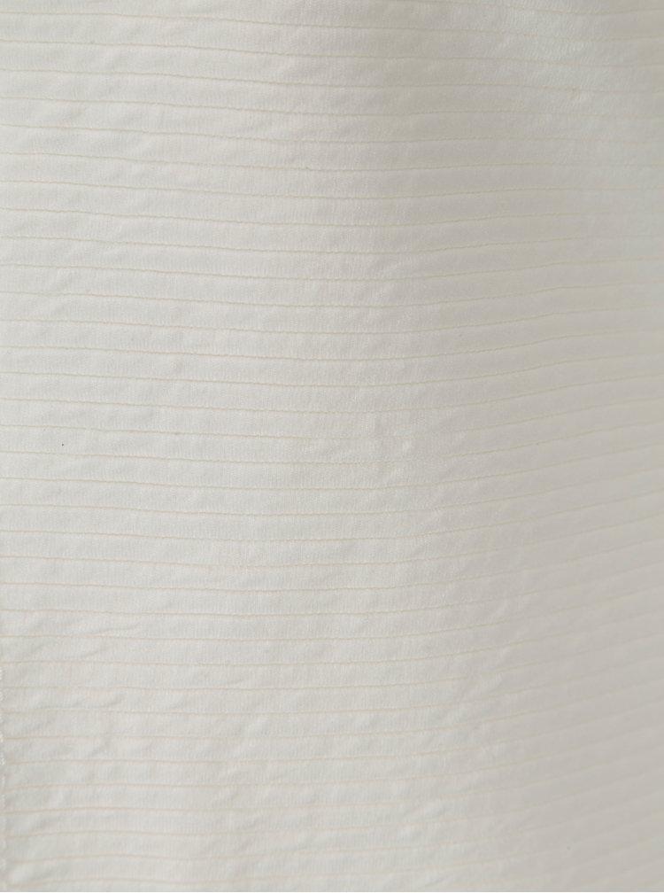 Krémový žebrovaný kardigan Haily´s Luxy