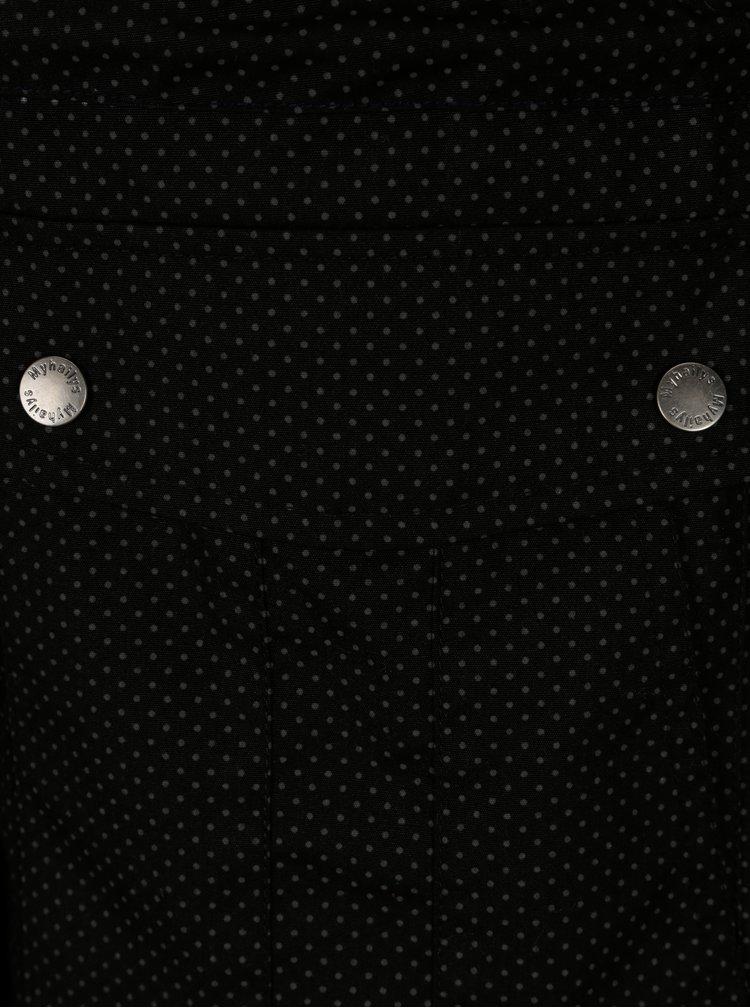 Černá puntíkovaná parka Haily´s Emily