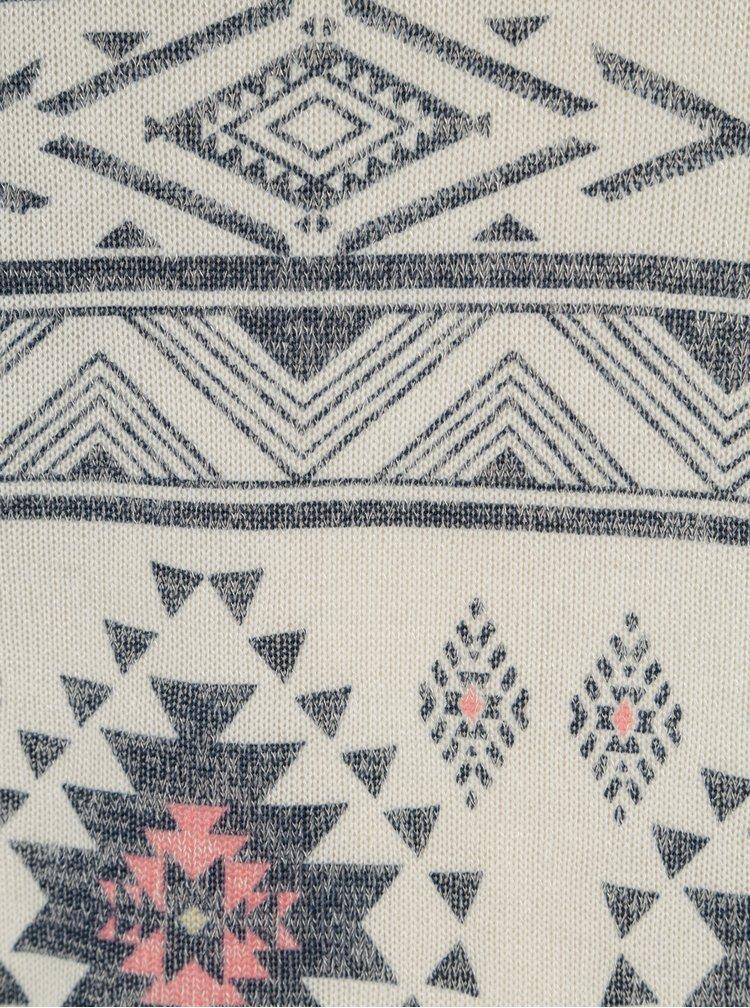 Krémový lehký svetr s 3/4 rukávem Haily´s Lisa