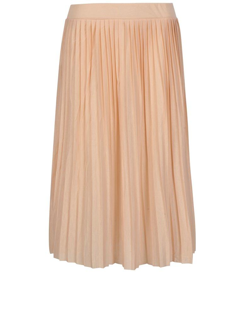 Meruňková plisovaná sukně Haily´s Fiona