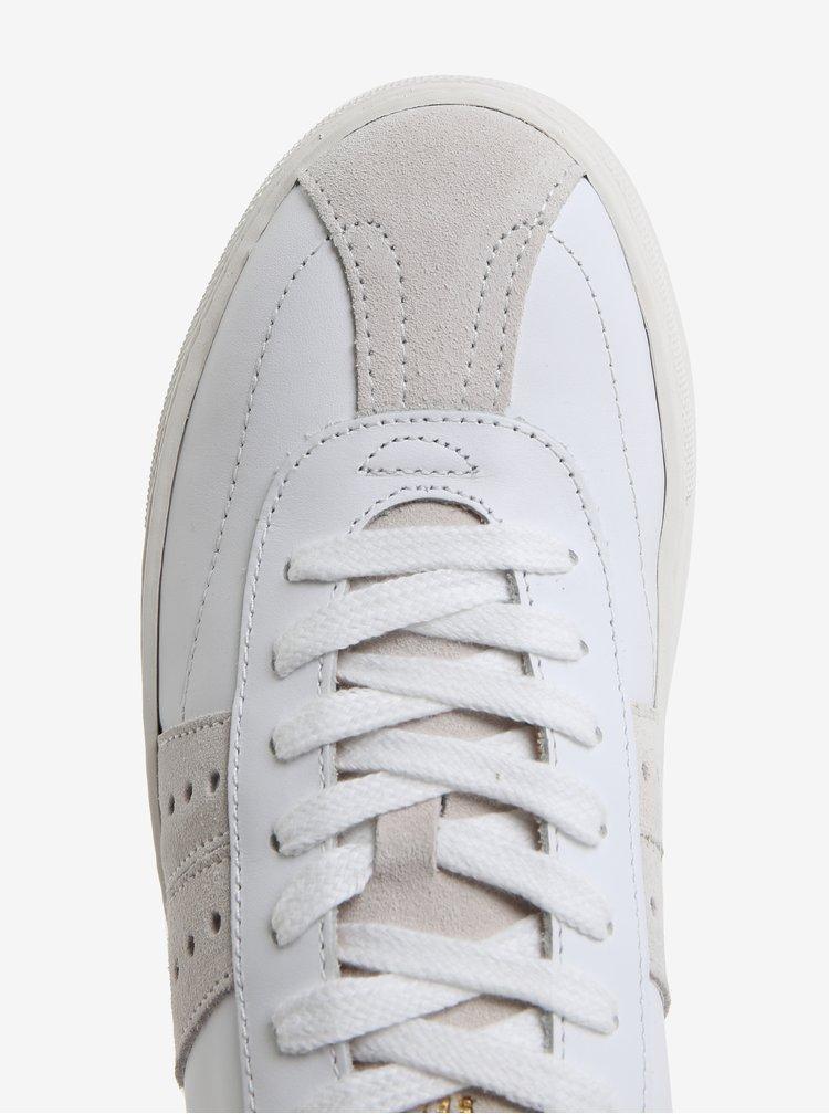 Bílé kožené tenisky Selected Femme Dina