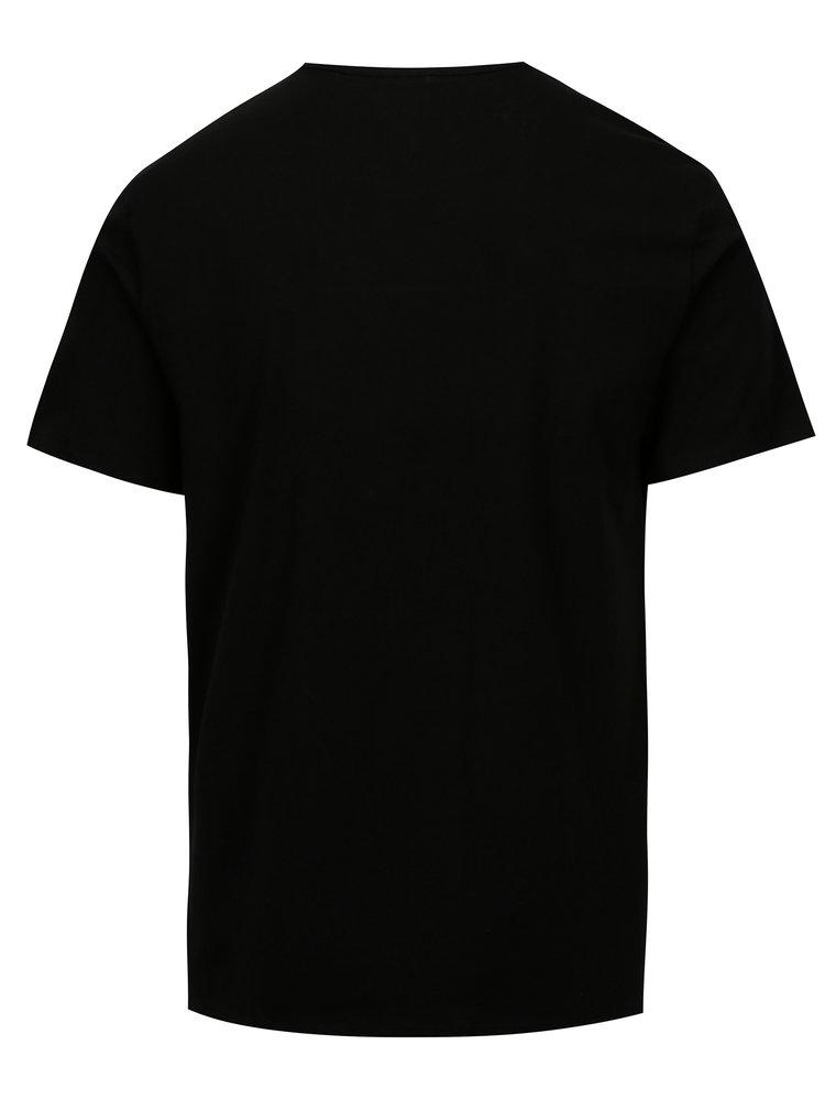 Sada dvou pánských modern fit triček pod košili v černé a bílé barvě Calvin Klein