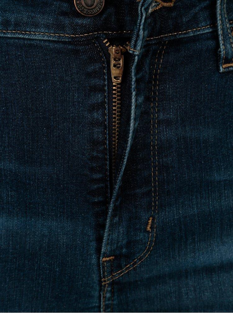 Modré dámské high rise skinny džíny Levi's®