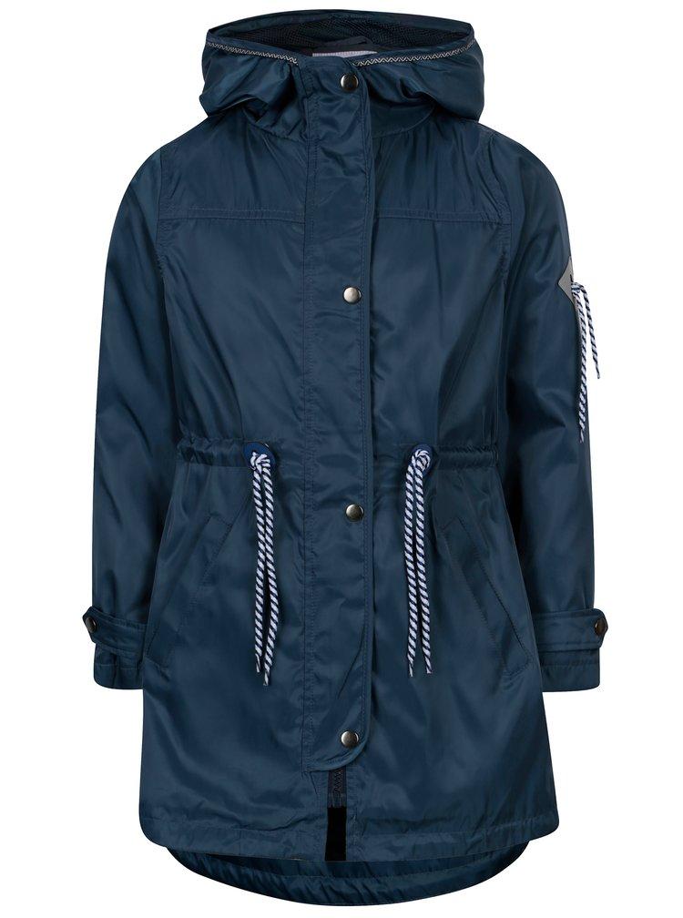 Tmavě modrá holčičí parka s kapucí 5.10.15.