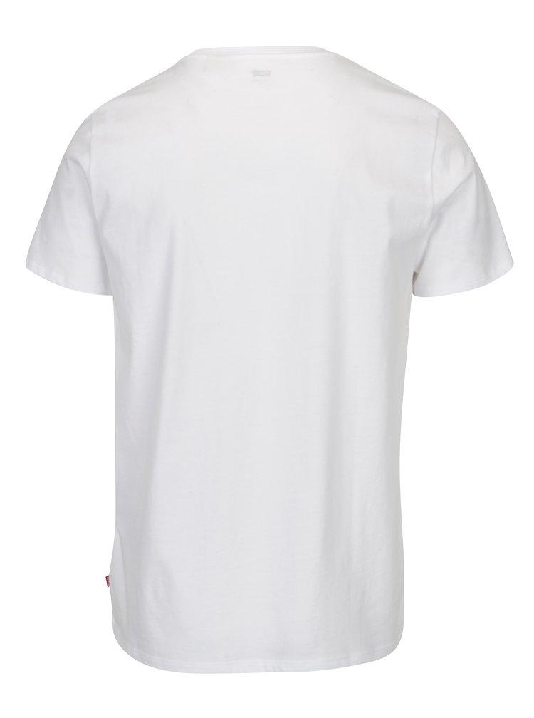 Tricou alb cu print pentru barbati - Levi's®