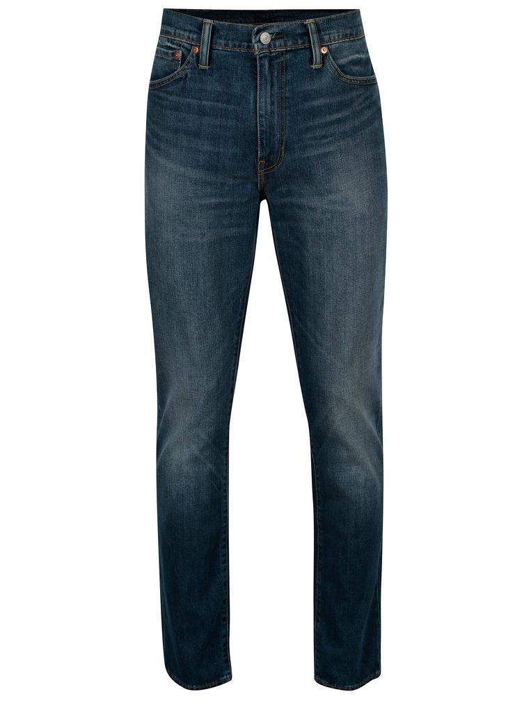 Modré pánské slim fit džíny s vyšisovaným efektem Levi's®