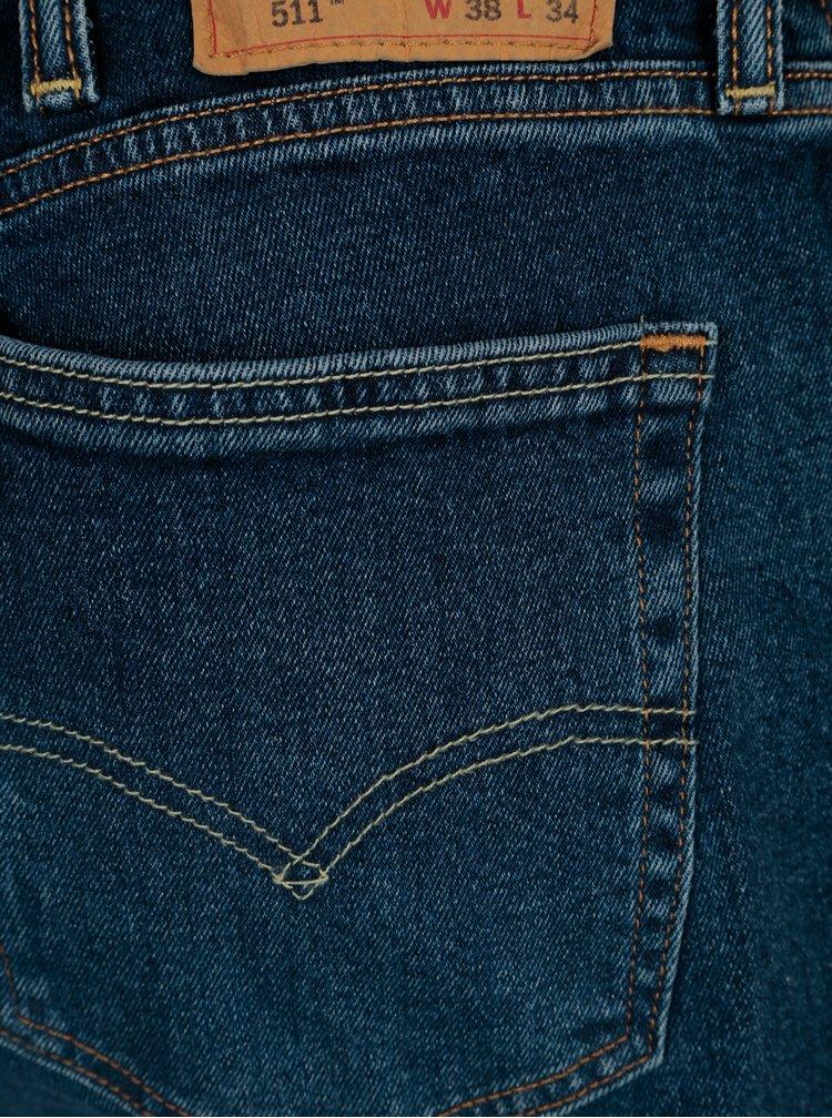Tmavě modré pánské slim fit džíny Levi's®
