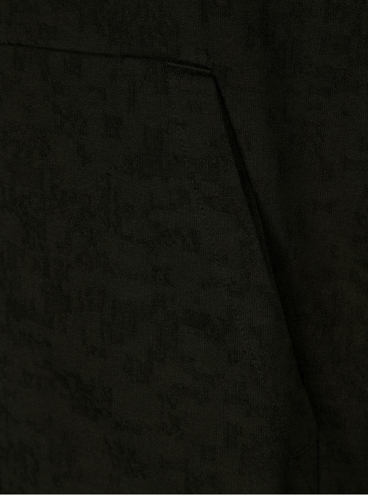 Tmavě zelená pánská mikina s kapucí Nike