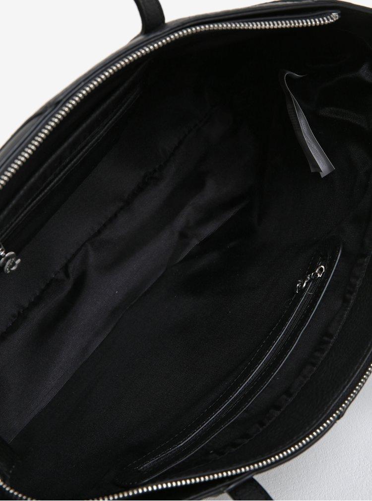 Černá vzorovaná kabelka Desigual Halley