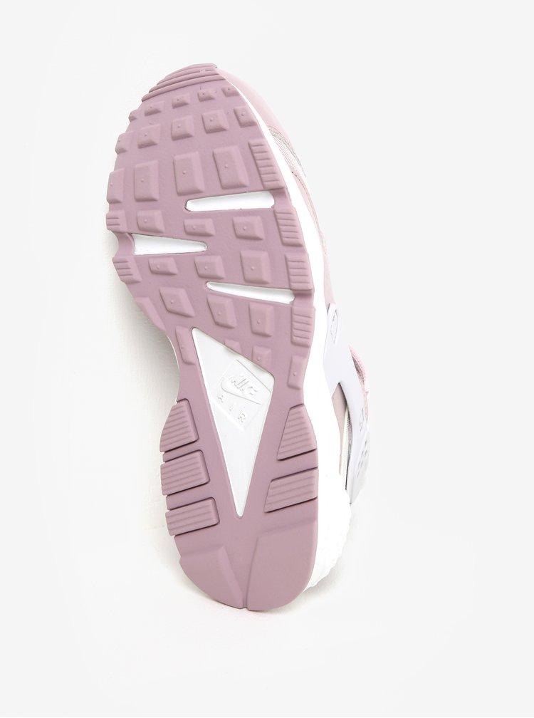 Starorůžové dámské tenisky Nike Air Huarache Run