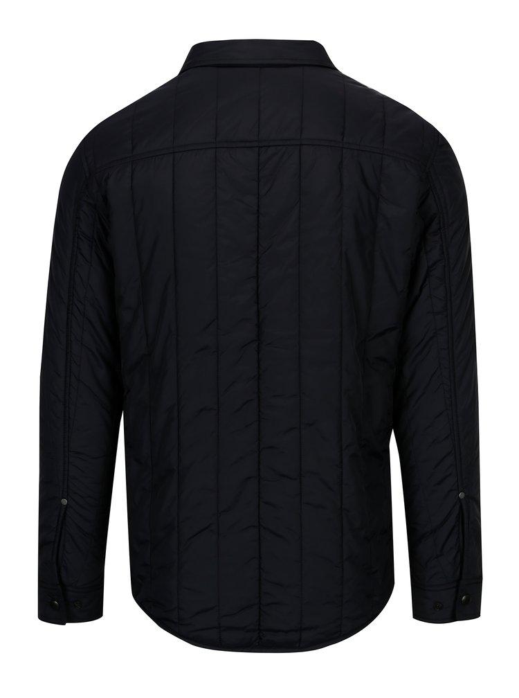 Tmavě modrá prošívaná bunda Jack & Jones Premium Connect