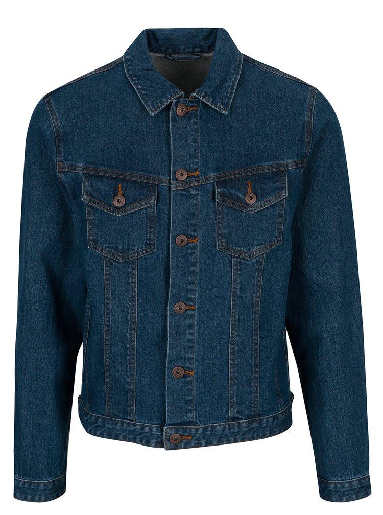Jacheta din denim albastra cu buzunare - Jack & Jones Earl