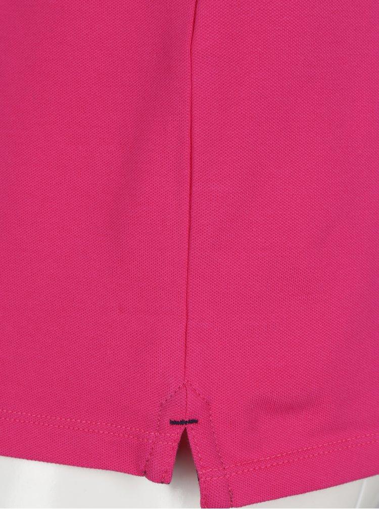Růžové polo tričko Selected Homme Haro