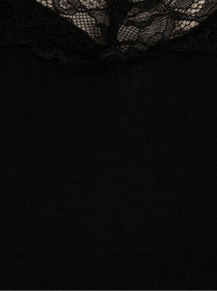 Černé tílko s krajkou Jacqueline de Yong Appa