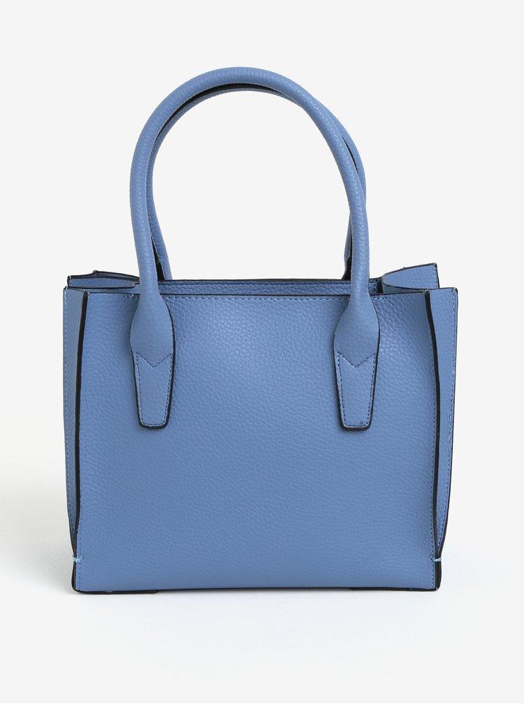 Modrá koženková kabelka Dorothy Perkins
