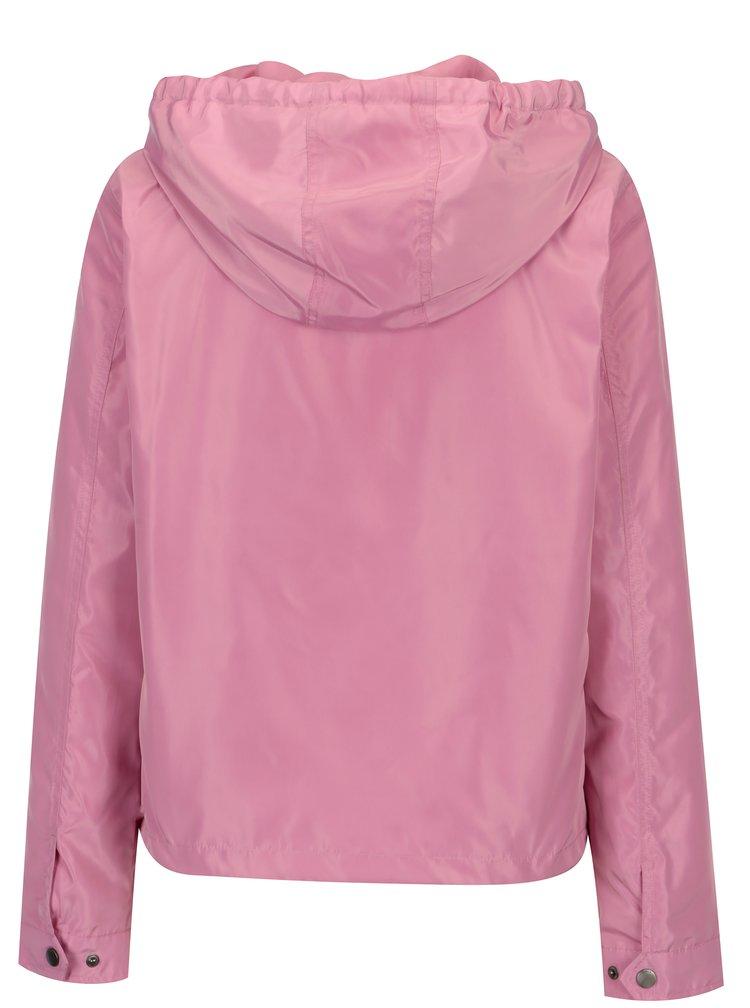 Růžová lehká bunda ONLY City