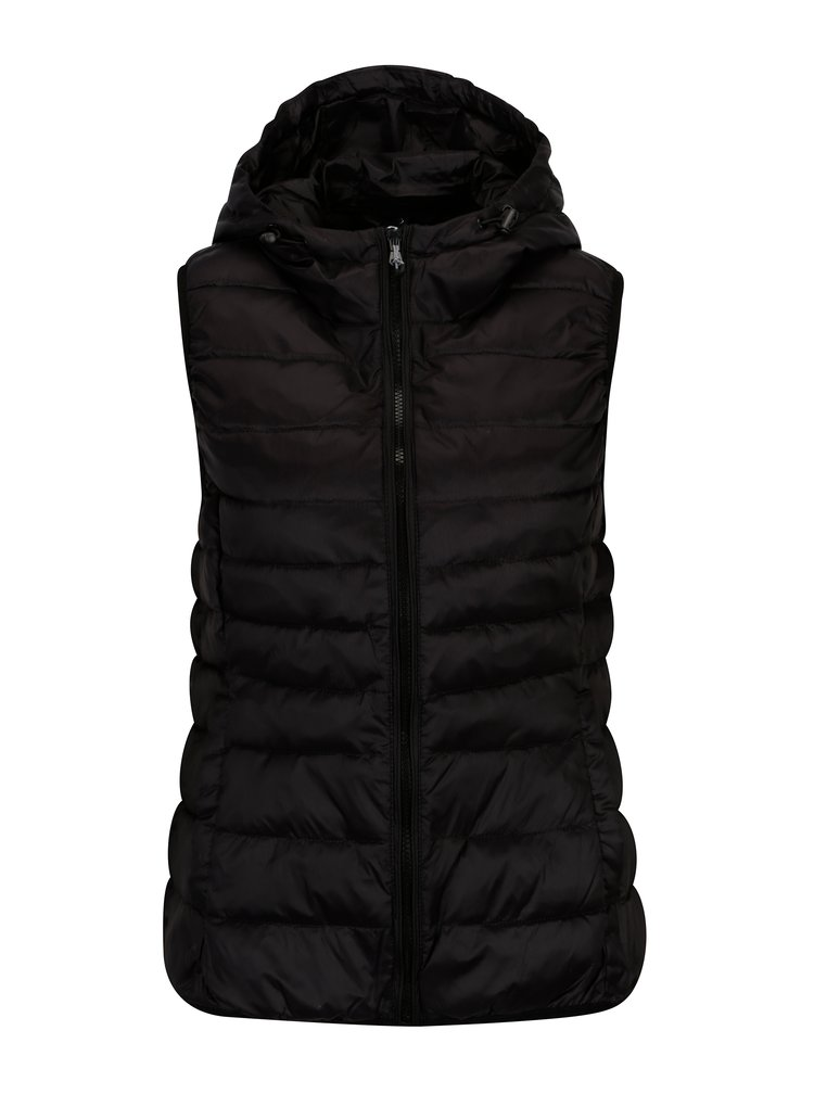 Černá prošívaná vesta ONLY Tahoe