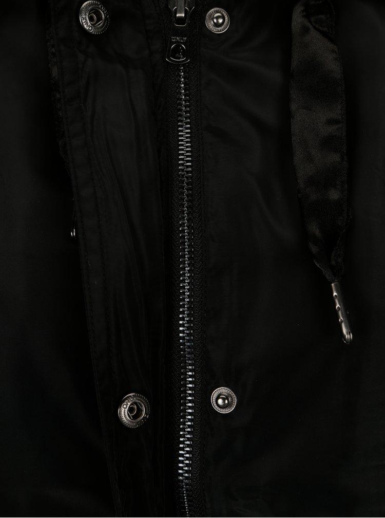 Černá lehká bunda ONLY City