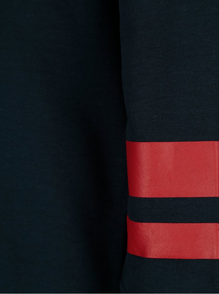Bluza sport lunga neagra cu dungi contrastante - ONLY Absolute