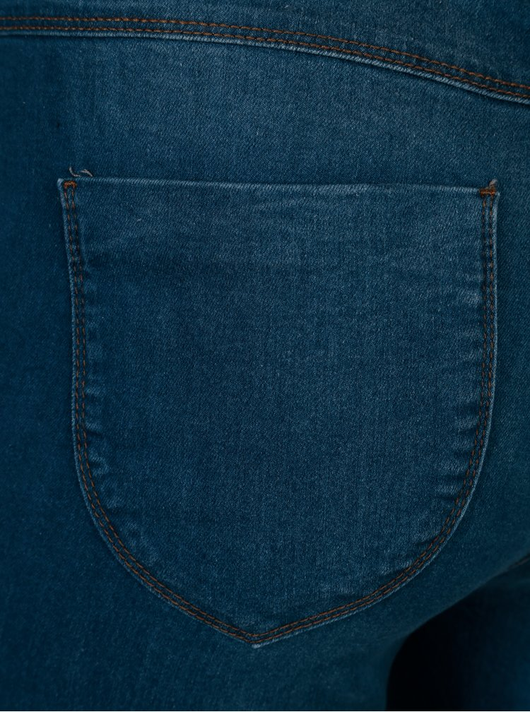 Jeggings albastri cu talie clasica -  Dorothy Perkins Curve