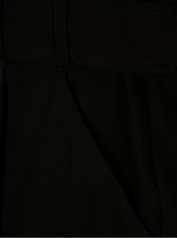 Černé kraťasy s páskem Dorothy Perkins