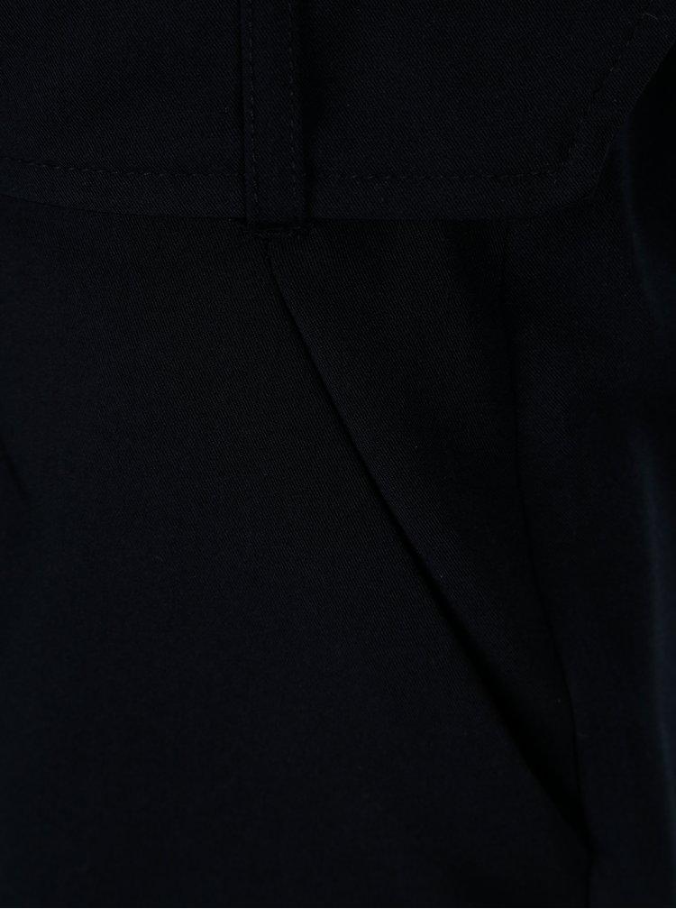 Tmavě modré kraťasy s páskem Dorothy Perkins