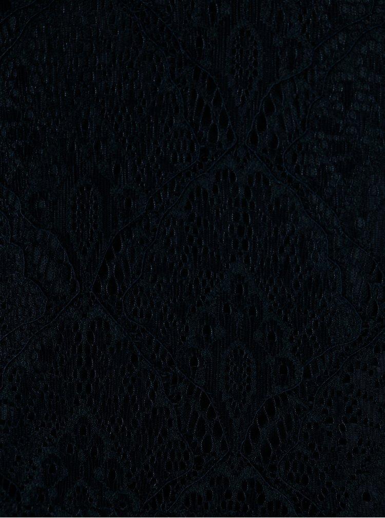 Rochie din dantela bleumarin - VILA Frej