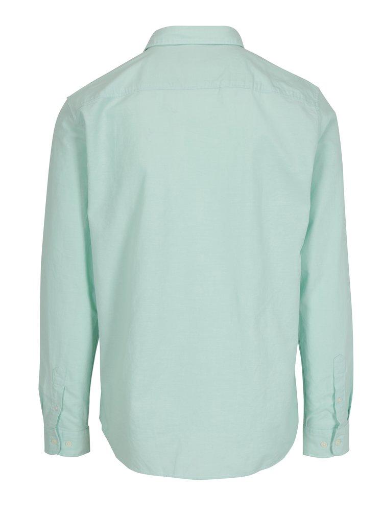 Světle zelená regular fit košile Selected Homme