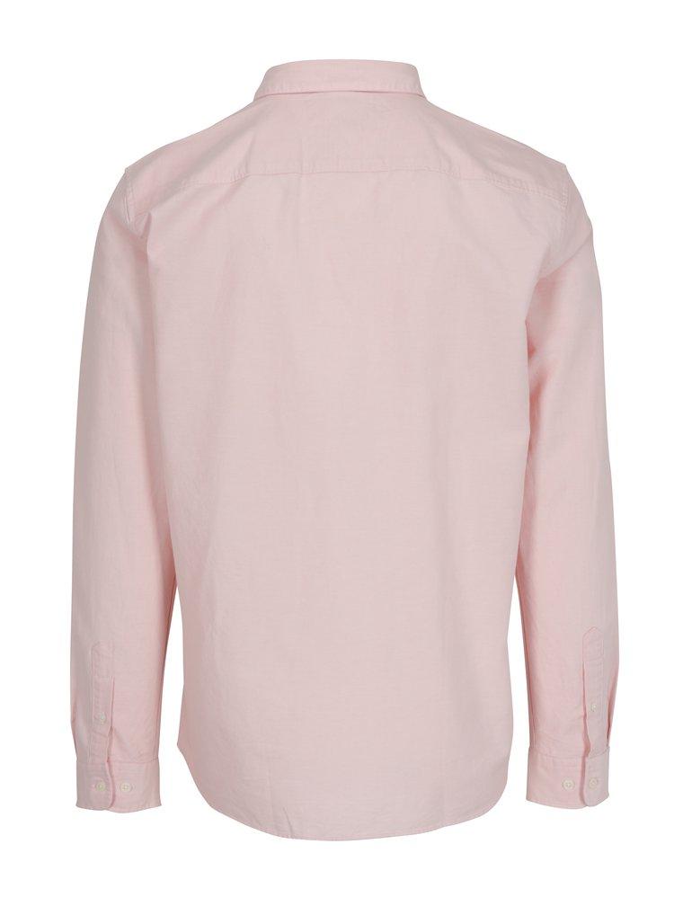 Camasa roz deschis regular fit - Selected Homme