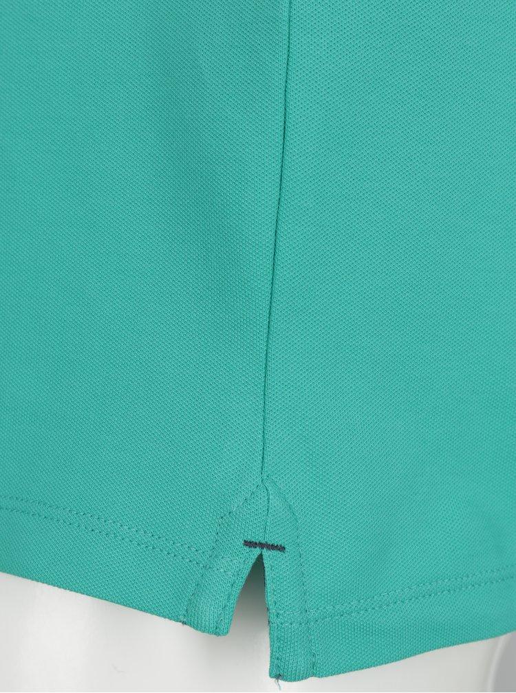 Zelené polo tričko Selected Homme Haro