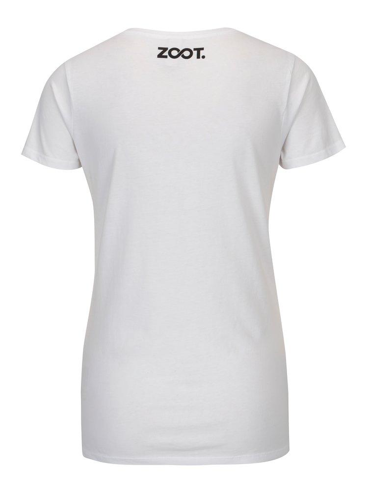 Bílé dámské tričko ZOOT Original Insert your heart