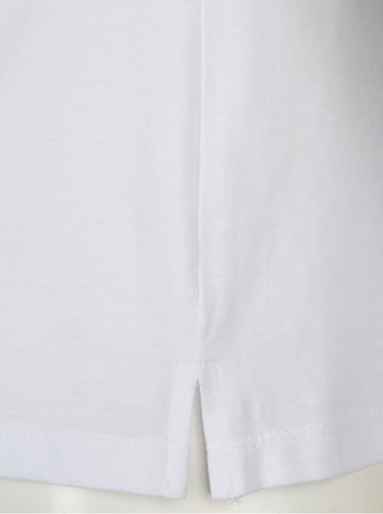 Bílé unisex tričko ZOOT Original Zapálení pre lásku