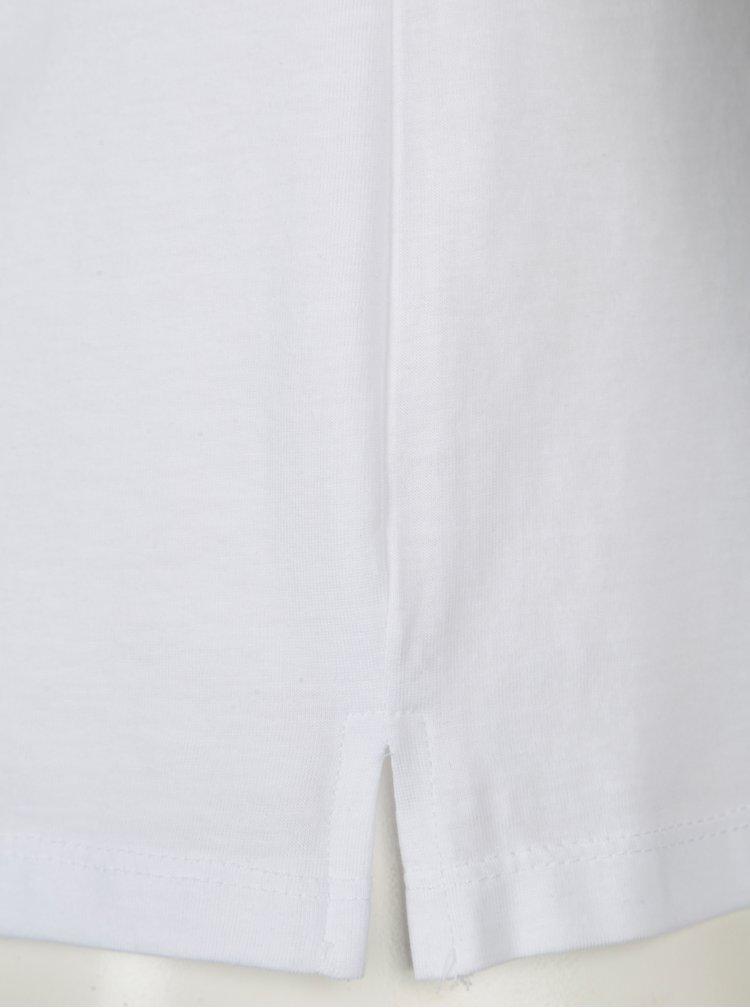 Bílé unisex tričko ZOOT Original Srdce, rozum