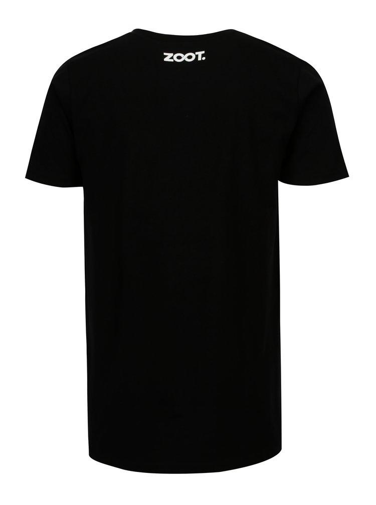 Černé pánské tričko ZOOT Original Polygon heart
