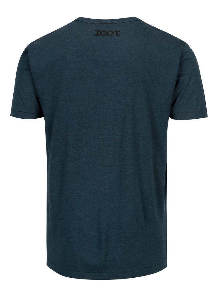 Modré pánské bambusové tričko ZOOT Original Lovec